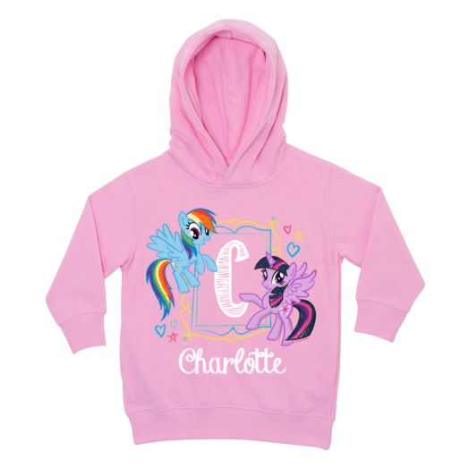 My Little Pony Initial Sketch Pink Toddler Hoodie