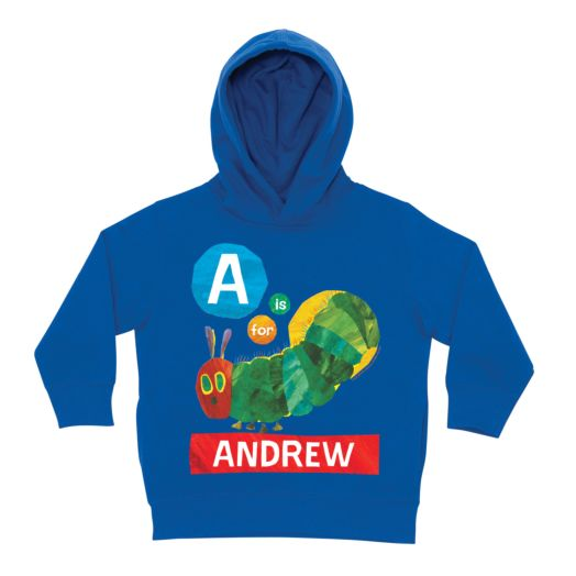 Very Hungry Caterpillar Alphabet Royal Blue Toddler Hoodie