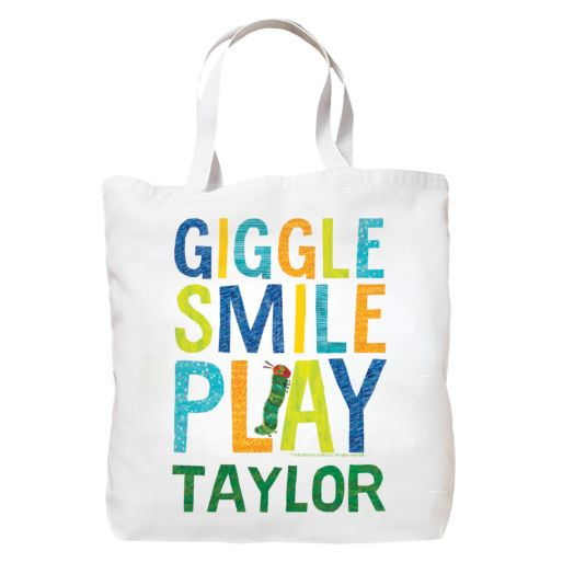 Very Hungry Caterpillar Giggle Smile Play White Tote Bag