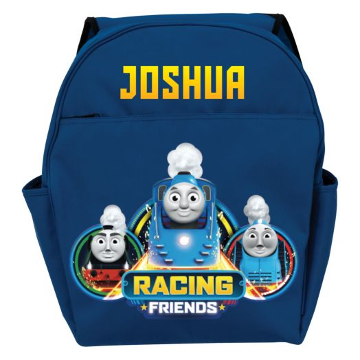 Thomas & Friends Racing Friends Blue Toddler Backpack