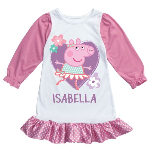 Peppa Pig Pink Nightgown