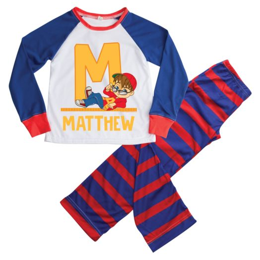 Alvin and the Chipmunks Initial Boy Loungewear