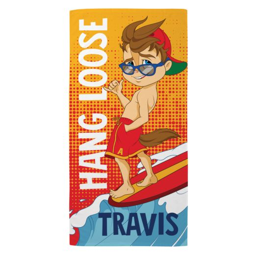 Alvin and the Chipmunks Hang Loose Beach Towel