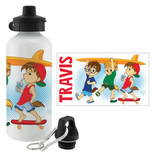 Alvin and the Chipmunks Surfs Up Water Bottle