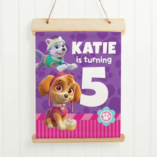 PAW Patrol Party Pups Birthday Sign