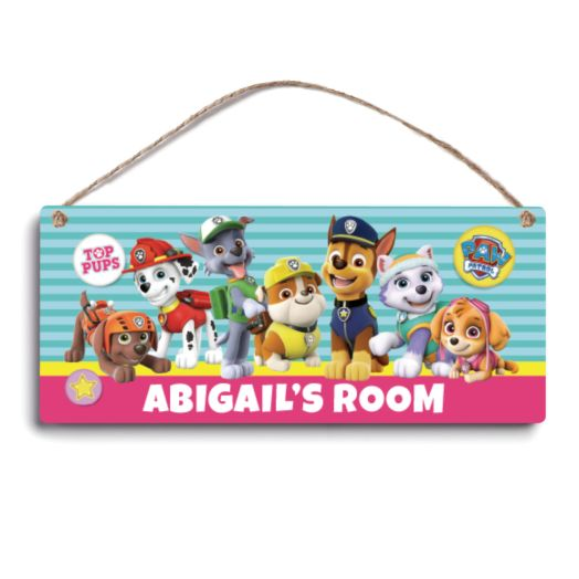 PAW Patrol Pawesome Pups Room Sign