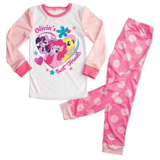 My Little Pony Pink Fitted Pajamas