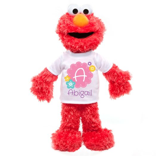 Sesame Street Elmo with Personalized Spring Tee