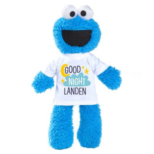 Sesame Street Cookie Monster Plush with Personalized Sleepy Tee