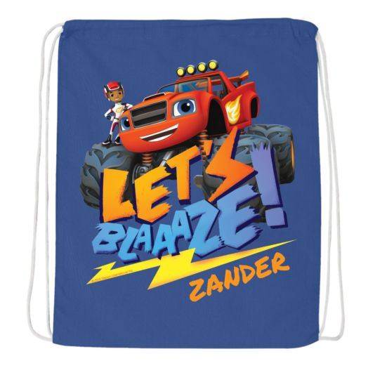 Blaze and the Monster Machines Drawstring Bag