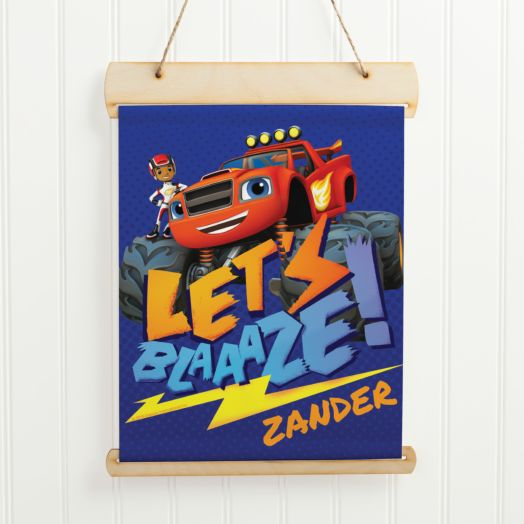 Blaze and the Monster Machines Hanging Banner