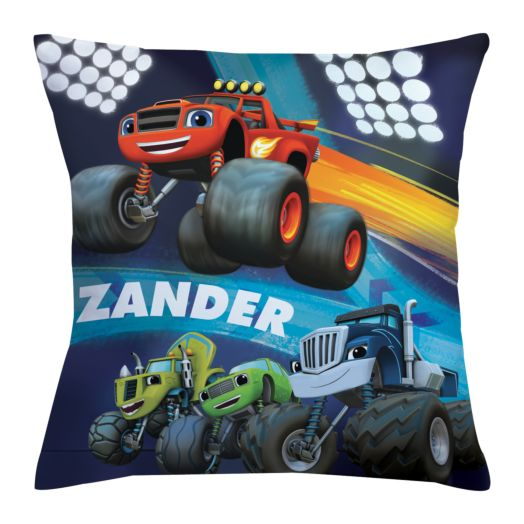 Blaze and the Monster Machines Throw Pillow