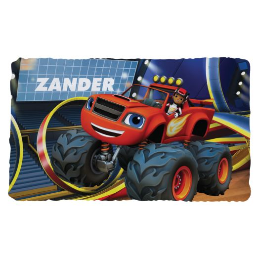 Blaze and the Monster Machines Fuzzy Blanket