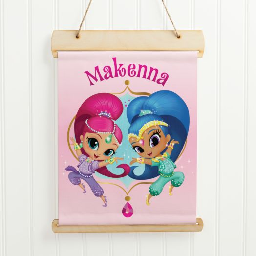 Shimmer and Shine Hanging Birthday Banner