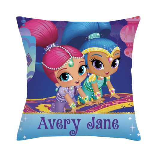Shimmer and Shine Throw Pillow