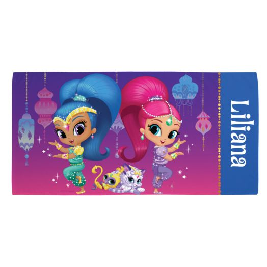 Shimmer and Shine Beach Towel