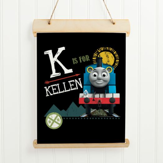 Thomas & Friends Chalkboard Initial Hanging Banner