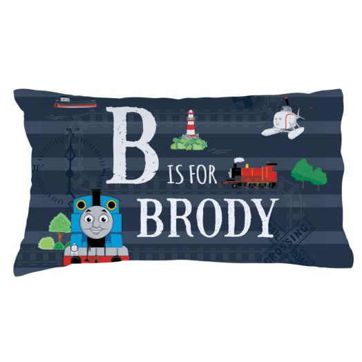 Thomas & Friends Initial Fuzzy Pillowcase