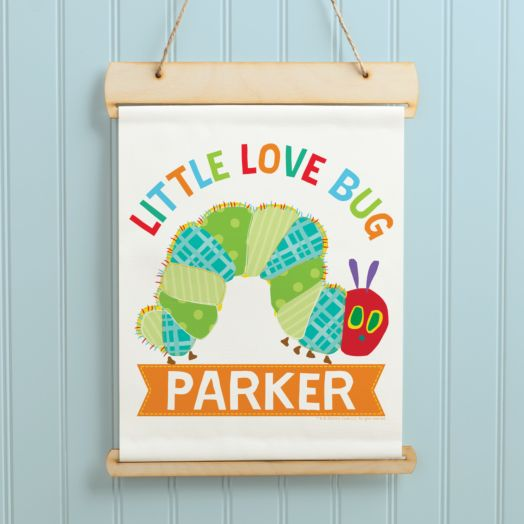 Very Hungry Caterpillar Love Bug Hanging Banner