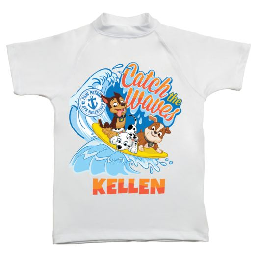 PAW Patrol Catch the Waves UV Protected Swim Shirt
