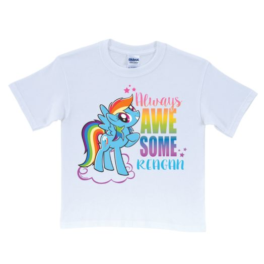 My Little Pony Always Awesome White T-Shirt