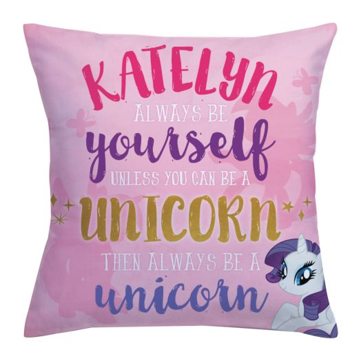 My Little Pony Always Be Yourself Throw Pillow