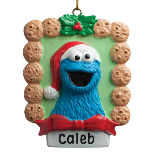 Sesame Street C is for Cookie Monster Ornament