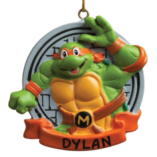 Teenage Mutant Ninja Turtle Ornament -Michelangelo