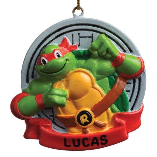 Teenage Mutant Ninja Turtle Ornament - Raphael