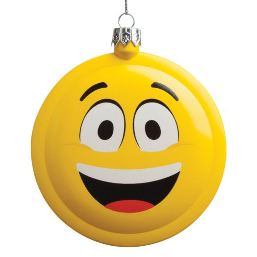 Emoji Happy Ornament