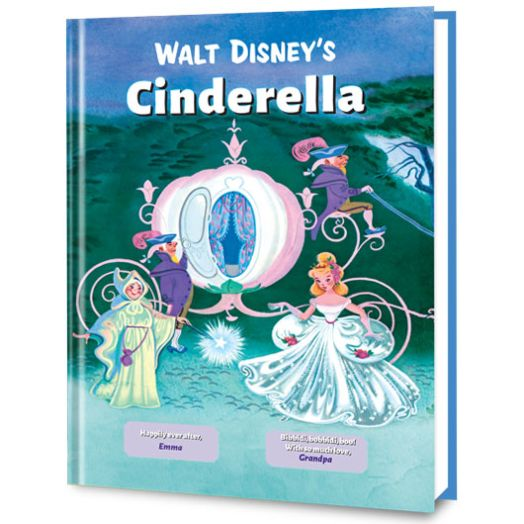 Walt Disney's Cinderella Personalized Book