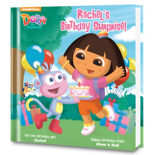 Dora's Birthday Surprise! Personalized Book
