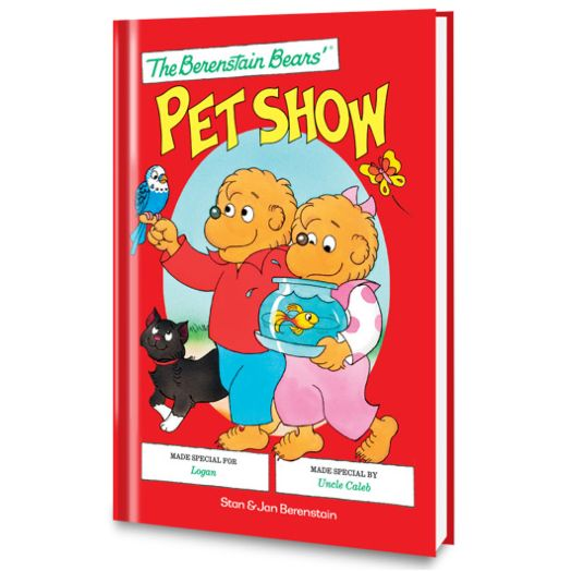 The Berenstain Bears Pet Show Personalized Book