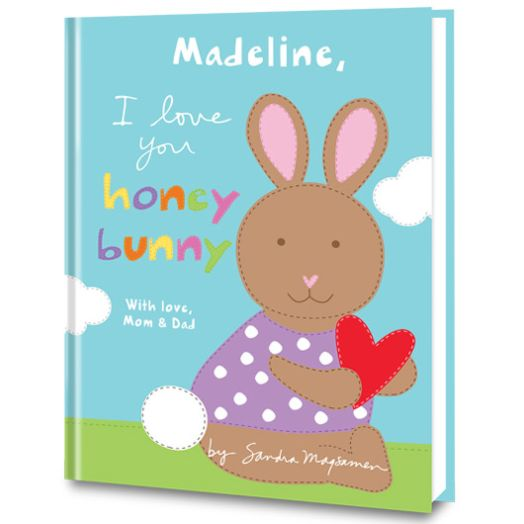 I Love You, Honey Bunny Personalized Book