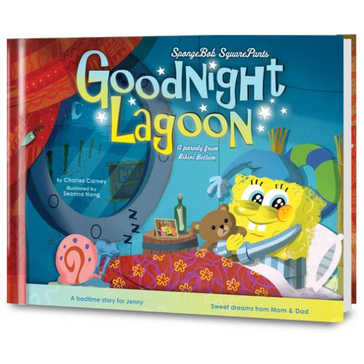 SpongeBob SquarePants: Goodnight Lagoon Personalized Book