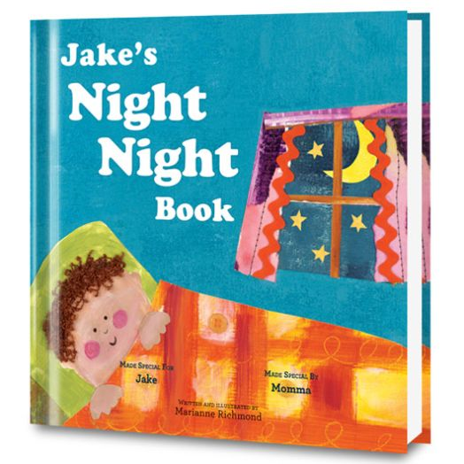 The Night Night Book Personalized Book