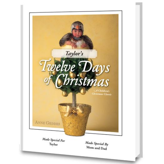 Twelve Days of Christmas Personalized Book