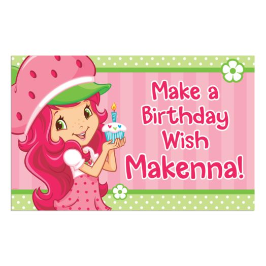 Strawberry Shortcake Birthday Wish Placemat
