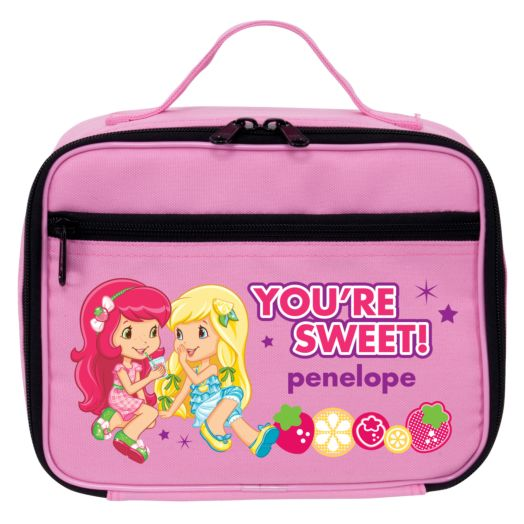 Strawberry Shortcake Lemon Meringue Pink Lunch Bag