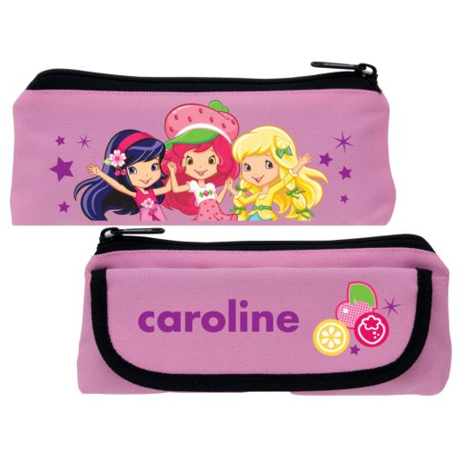 Strawberry Shortcake Berry Best Friends Pink Pencil Case