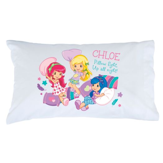Strawberry Shortcake Slumber Party Pillowcase