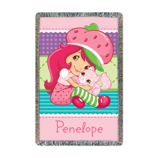 Strawberry Shortcake Cute n Cuddly Throw