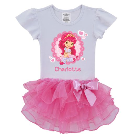 Strawberry Shortcake Ballerina Pink Tutu Shirt