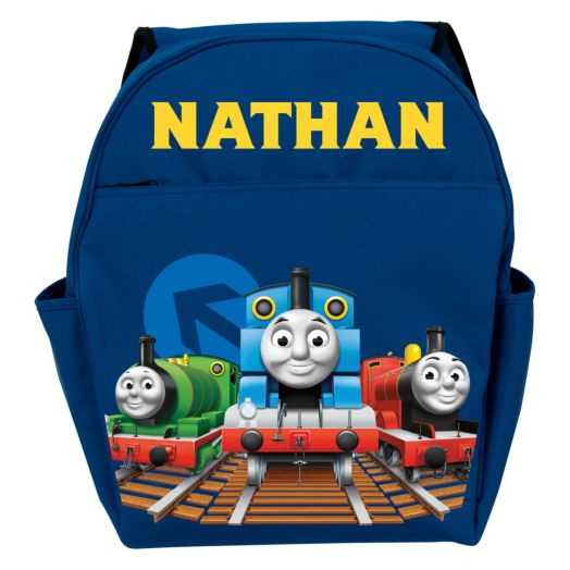Thomas & Friends All Aboard Blue Toddler Backpack