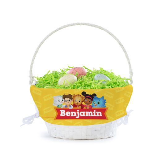Personalized Daniel Tiger Best Friends Basket