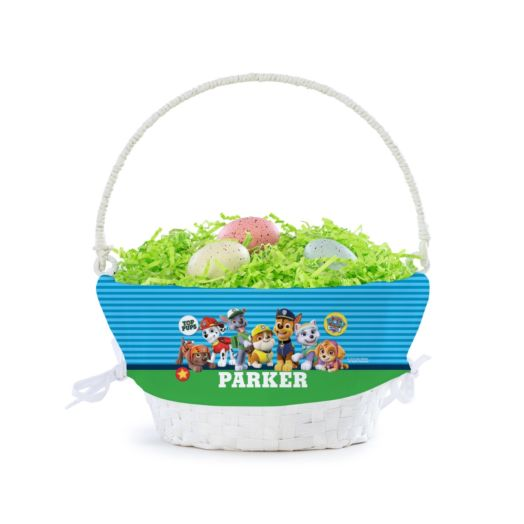 Personalized PAW Patrol Top Pup Basket