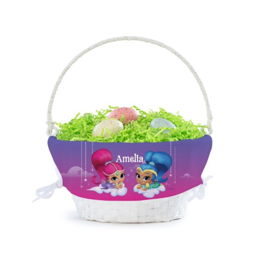 Personalized Shimmer and Shine Dazzling Duo Basket