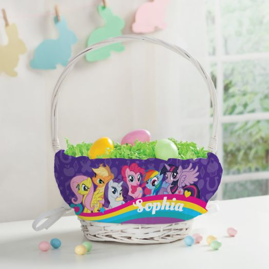 Personalized My Little Pony Spring Basket
