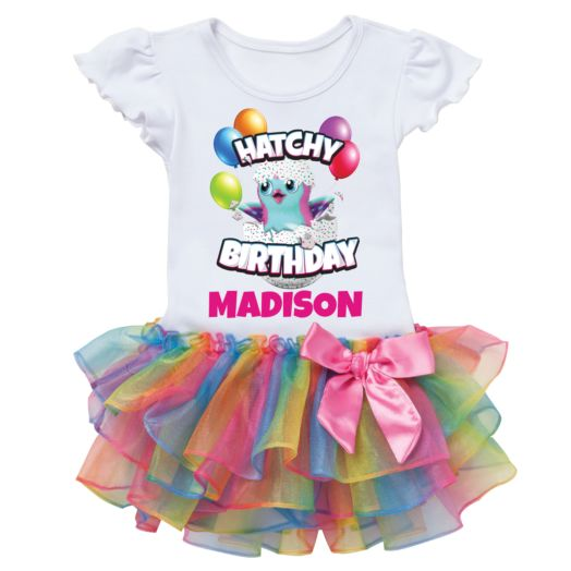Hatchimals Hatchy Birthday Tutu Tee