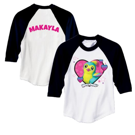Hatchimals Cute Hearts Pengula Sports Jersey